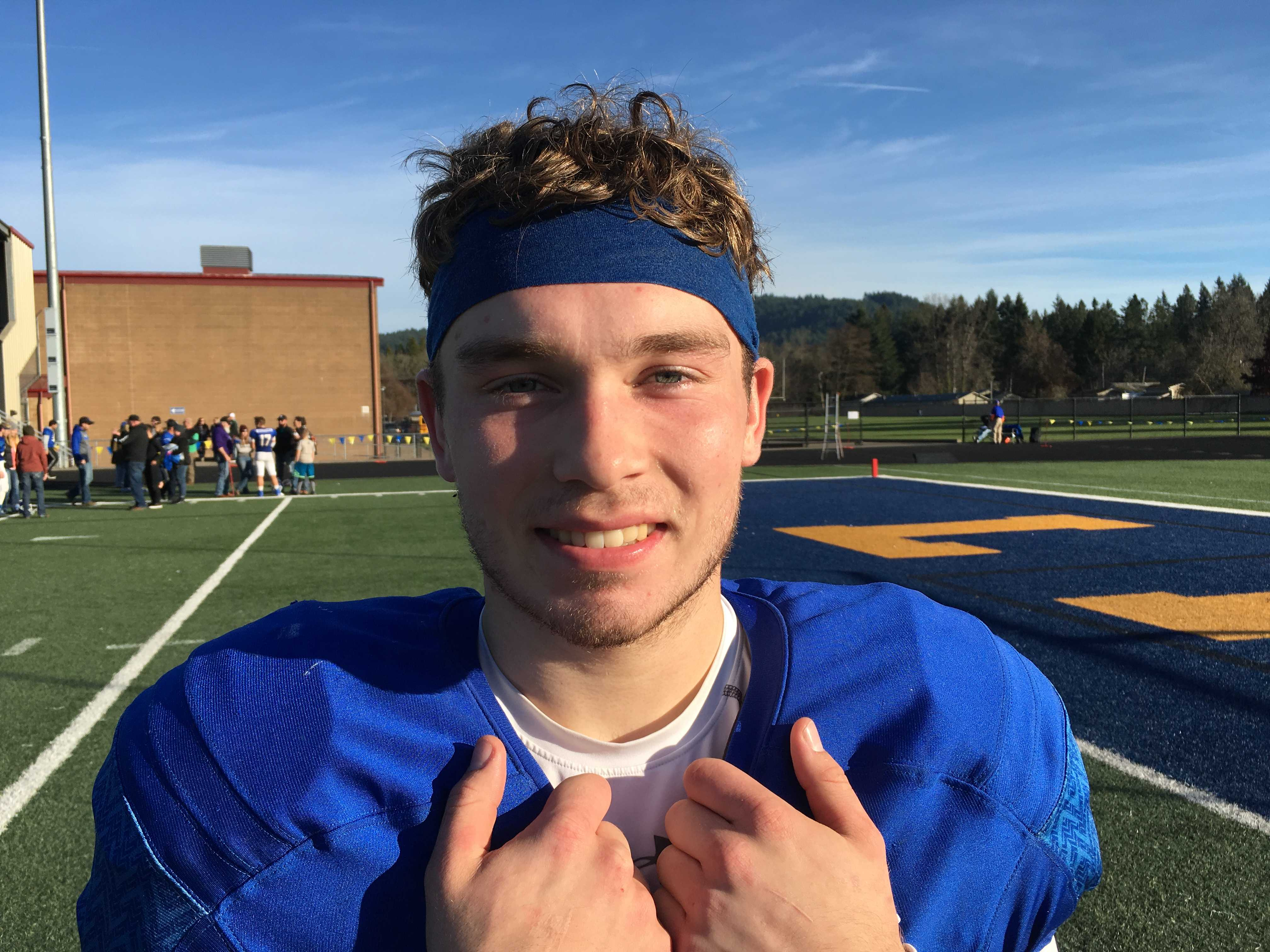 St. Paul quarterback TJ Crawford ran for three touchdowns and passed for two scores Saturday.