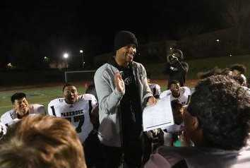 Keanon Lowe coached Parkrose to its first playoff win in school history last season. (Courtesy Parkrose HS)