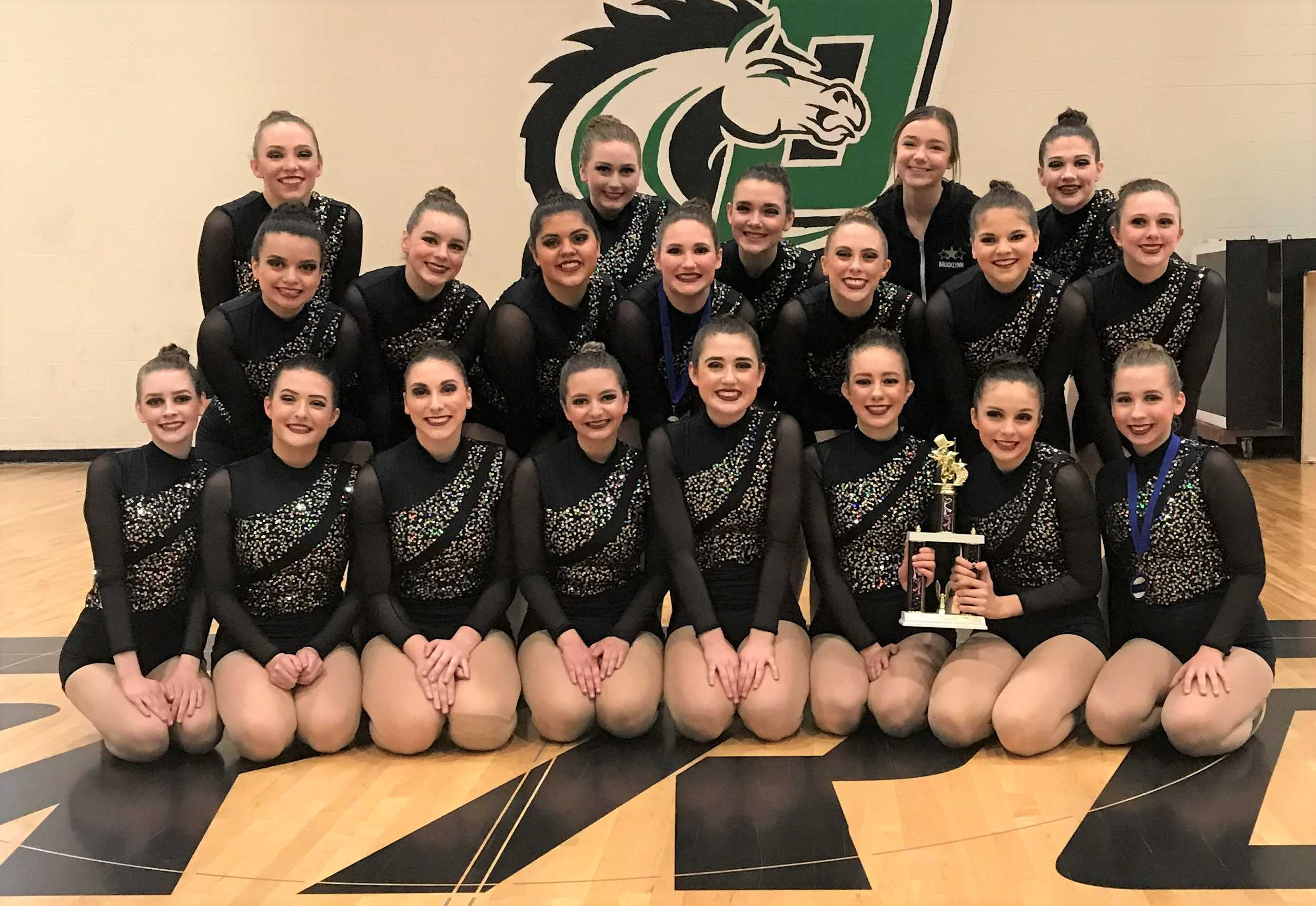 The Barlow Bruinettes won at Parkrose with their piece, 'Legendary.'