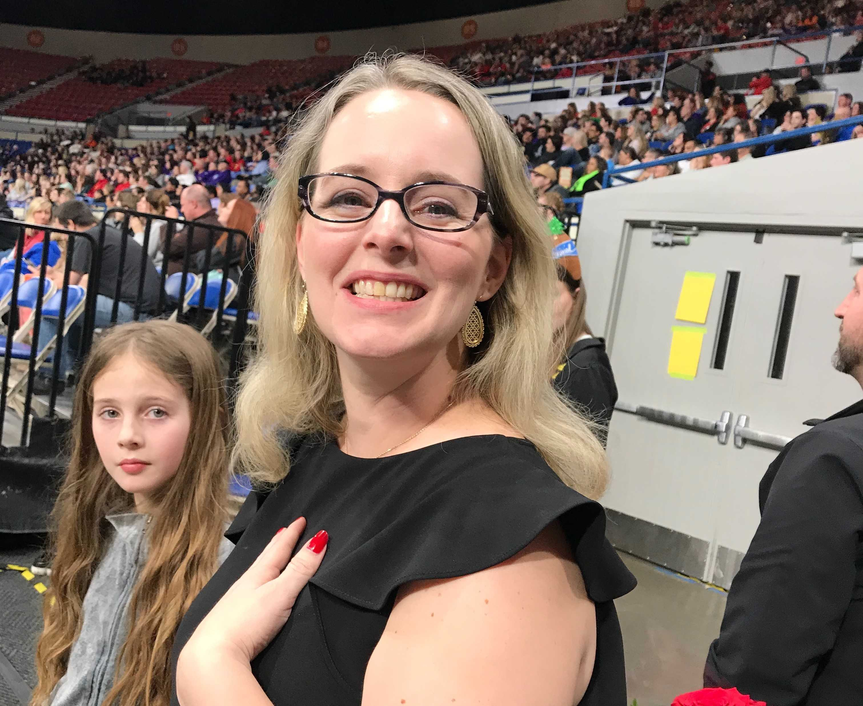 Marlena Nunley coached Reynolds to fifth place at state in 2012.