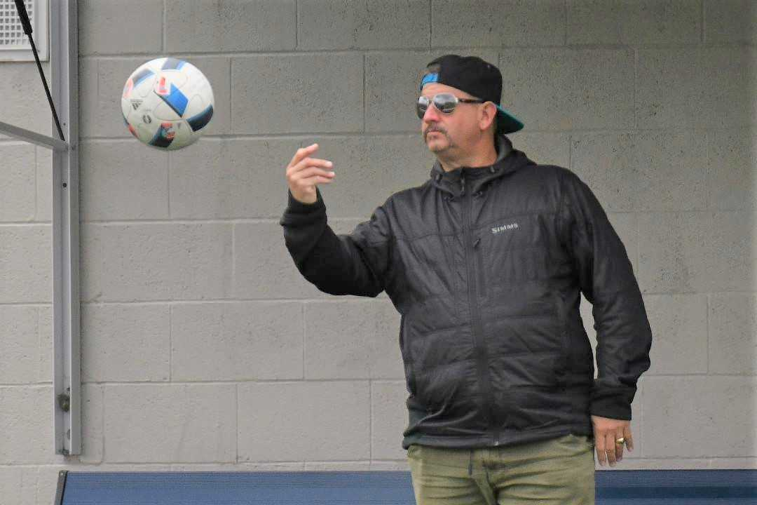 Travis Boersma coached a U18 team to a Presidents Cup title last year. (Courtesy photo)