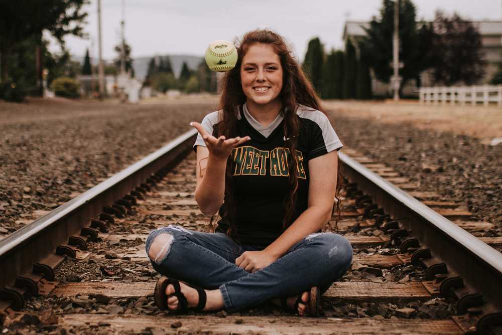 Allison Miner's been training for softball for more than a decade