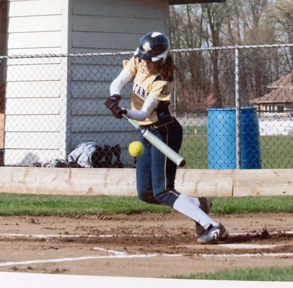 With the ability to bunt, slap hit or swing away, Kayla Braud was a true triple threat for Marist
