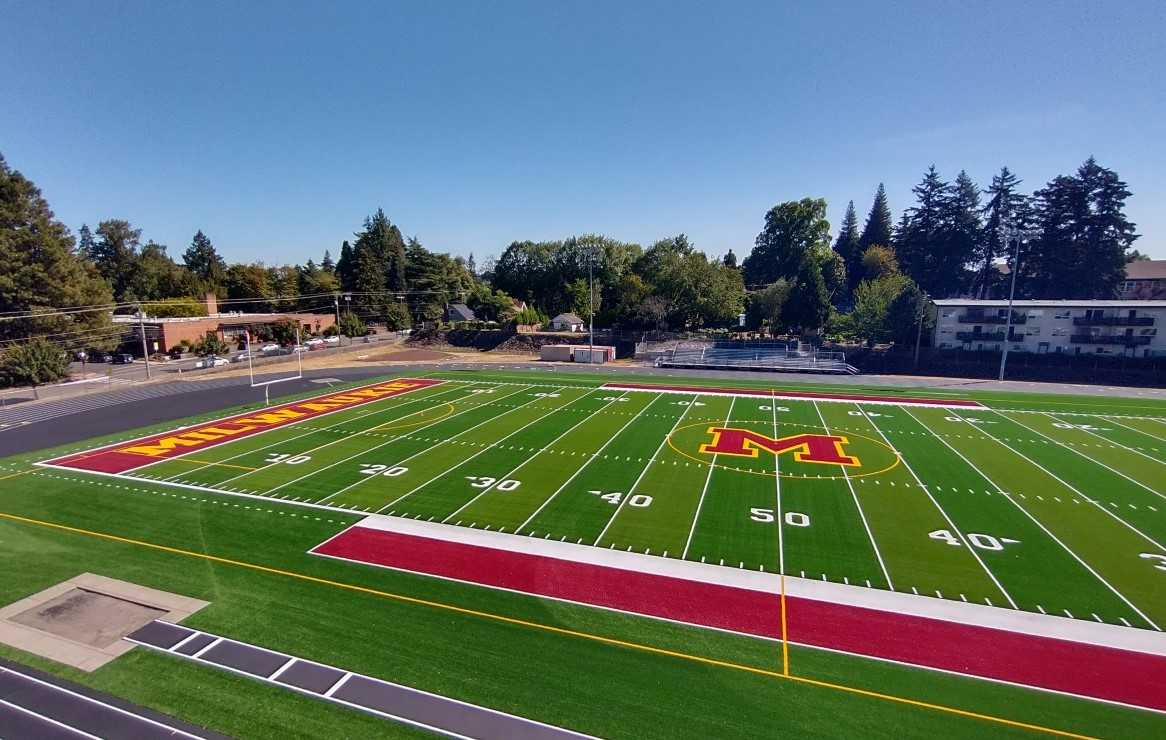 Milwaukie teams can return to their home stadium after two years of playing at Alder Creek Middle School.