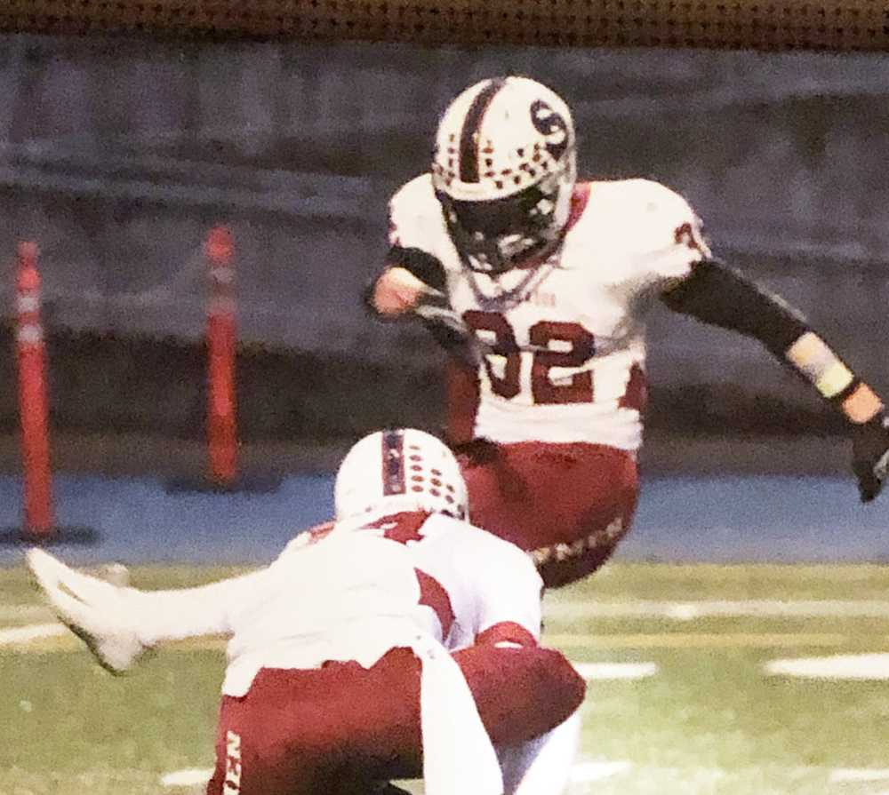 Adley Rutschman is known for his baseball ability, but his left foot took center stage in football for one night in Sherwood