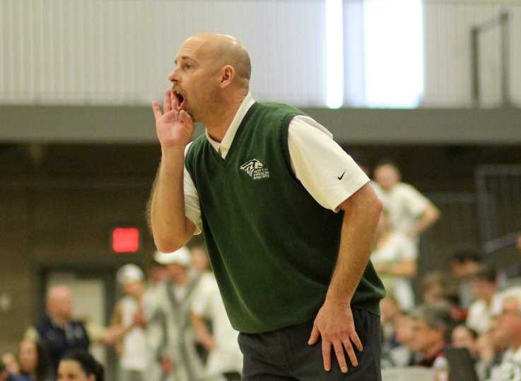 Coach Trevor Bodine said his departure from North Marion is 'bittersweet.' (Photo by Anna Lukianiuk Iliyn)