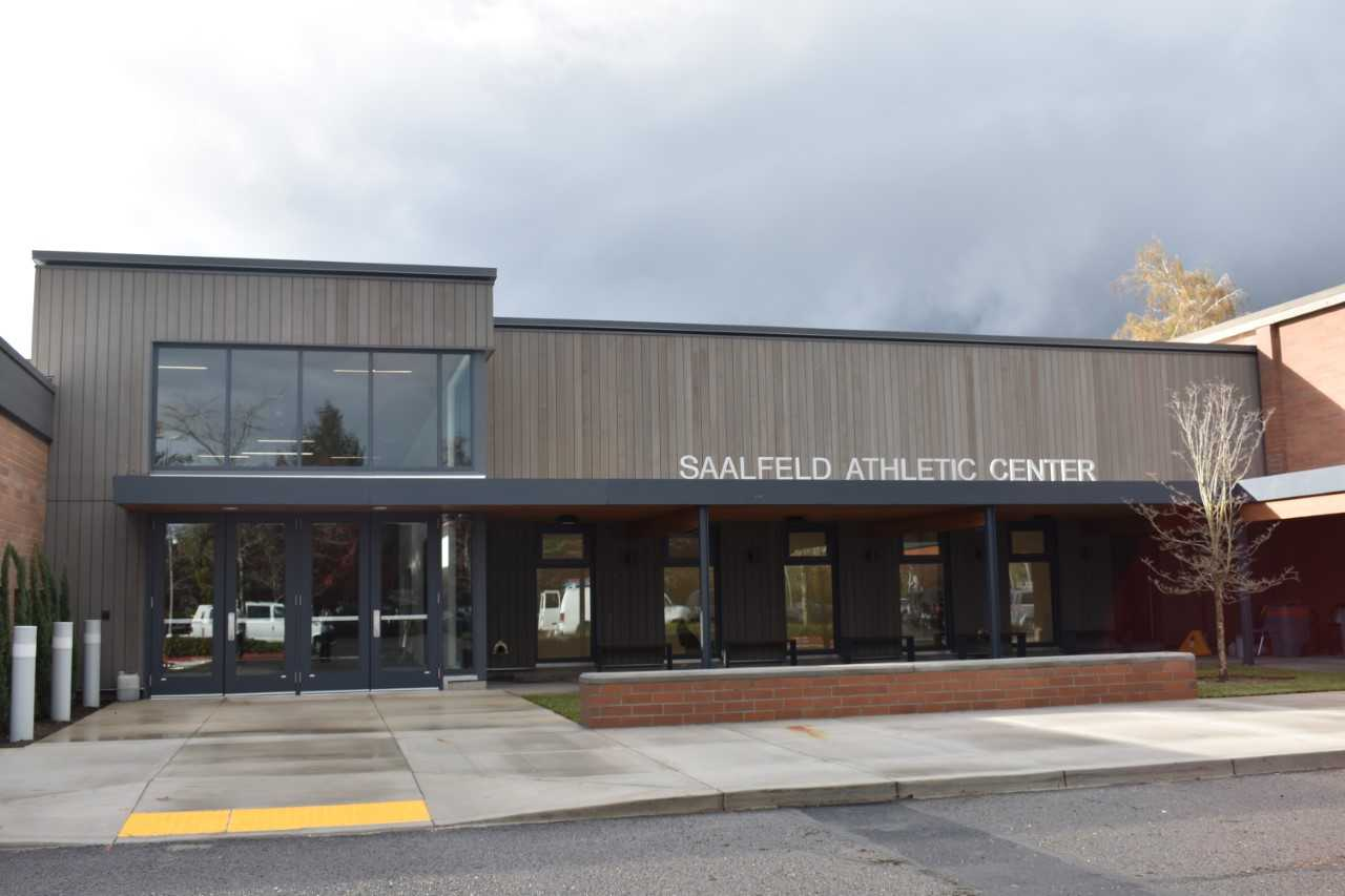 The Saalfeld Athletic Center was a $5 million project for La Salle Prep.