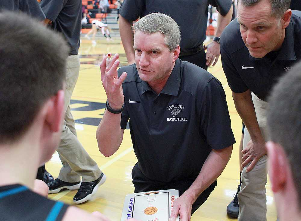 Scott Kellar has been coaching boys basketball at Century since the school opened in 1997