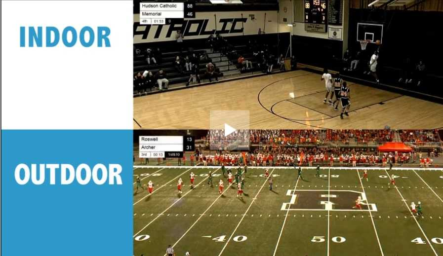 Pixellott Systems cameras are available to schools through a special deal with the NFHS Network. (Pixellot Systems)
