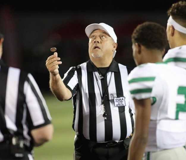 About 500 football officials have signed up in Oregon this year, down from 658 in 2019. (Clackamas Touchdown Club)