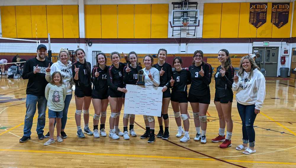 Damascus Christian ended its 2021 season with victory at its culminating week tournament