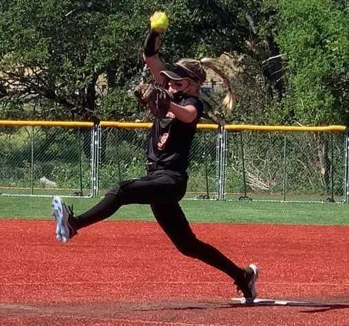 Cascade Christian senior Katelyn Willard has struck out 152 in 86 innings.