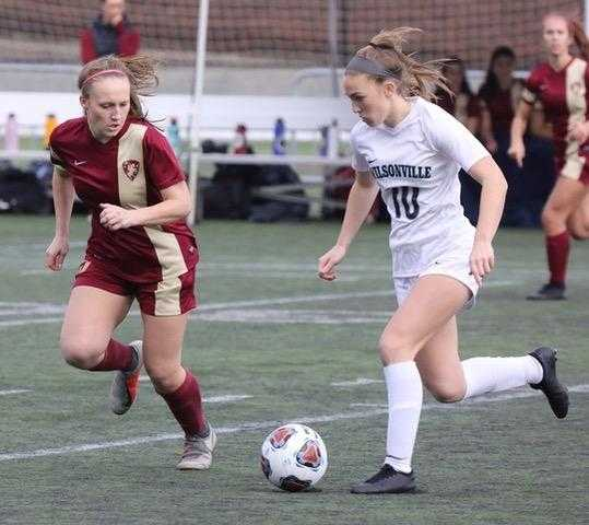 Wilsonville's Lindsey Antonson scored 87 goals in her first three seasons. (Photo by Norm Maves Jr.)