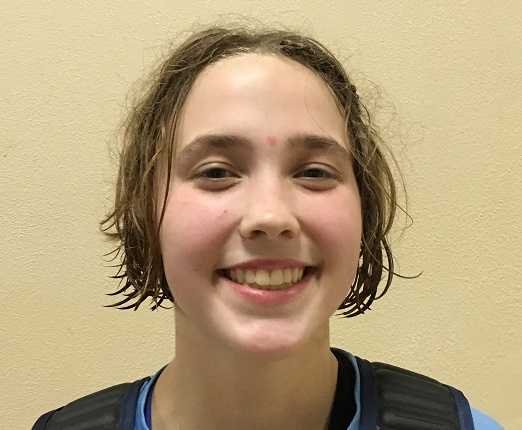Sophomore Livia Knapp scored a team-high 15 points for Liberty on Friday night.