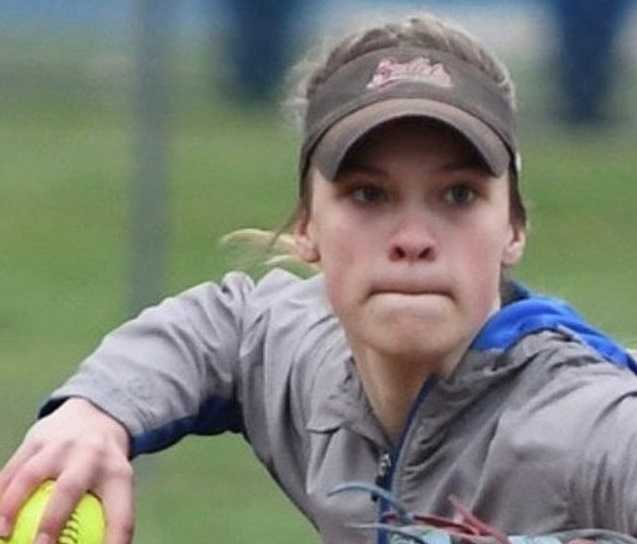 McNary's Taylor Ebbs has driven in 95 runs in her first two varsity seasons. (Courtesy McNary HS)